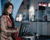 Reema - Host of Yeh Ghar Aap Ka Hua