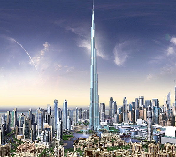 Burj Dubai - world's tallest structure