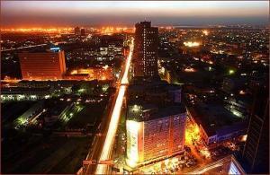 Karachi at night