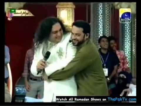 Dr. Aamir Liaquat insulting a singer in his Ramadan show 'Aman Ramadan'