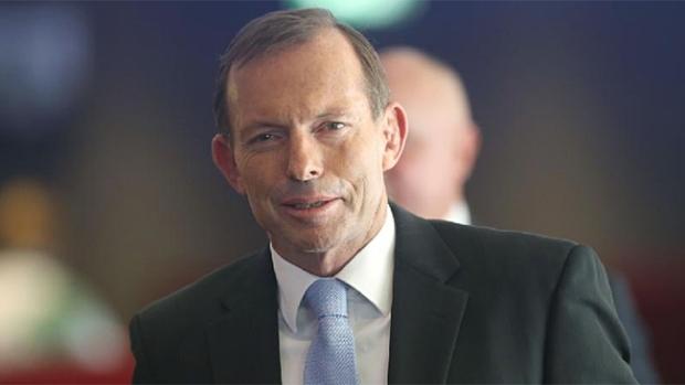 Hon. Tony Abbott - future prime minister of Australia