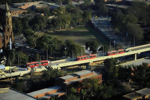 Lahore Metro Bus route
