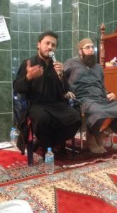Najam Sheraz and JJ